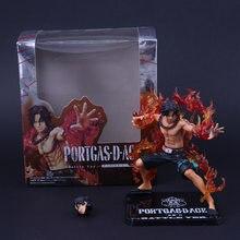 Figura de acción de One Piece, figura de acción de One Piece, Fire Fist, Portgas D Ace, One Piece, figuras de PVC de juguete, 2020