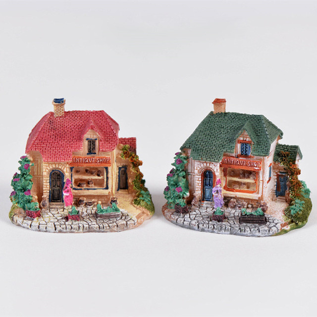minecraft fairy houses garden miniature crafts figurines landscaping micro decoration diy mouse