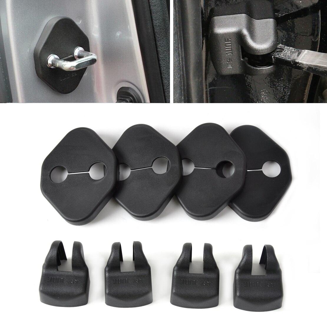 CITALL De Porte de Voiture Striker Cover Lock Protecteur Bouchon Boucle Cas Chapeau Chèque Couverture Bras Pour Toyota Camry Corolla 2011
