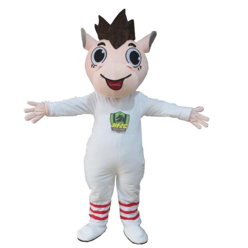 Костюм коня маскота, милая прогулочная лошадь, белая ткань, нарядное платье, косплей, аниме, тема, Маскотте, карнавальный костюм для Хэллоуин