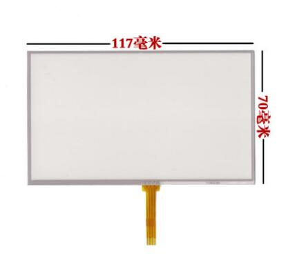 5pcs/A LOT Small 5 inch Resistive touch screen panel for GPS,MP4,MP5,LH980N handwriting screen.size:117*70mm a 9 inch touch screen czy62696b fpc dh 0901a1 fpc03 2 dh 0902a1 fpc03 02 vtc5090a05 gt90bh8016 hxs ydt1143 a1 mf 289 090f