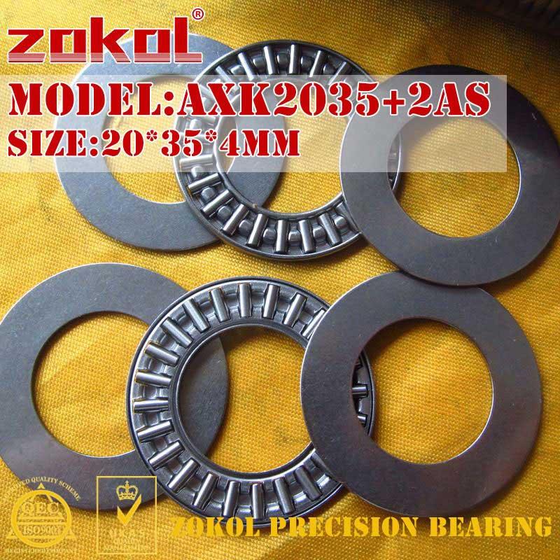 2AS Thrust Needle Roller Bearing 100*135*6 mm 1 ITEM AXK100135
