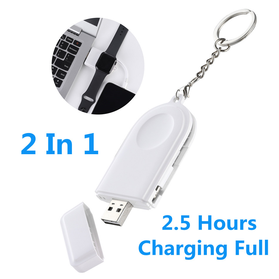 CRDC Wireless-Charger Usb-Cable Magnetic-Charging Apple Watch iPhone Portable Quick