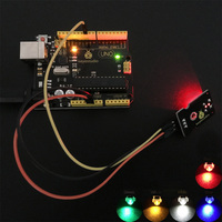 Keyestudio Super-bright emitting color Piranha LED module (RED)