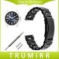 Liberação rápida pulseira 18mm 20mm 22mm para citizen homens mulheres relógio de pulso de aço inoxidável banda strap ligação pulseira de prata preto