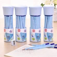 [4Y4A] 50 шт/30 шт. Подарочная коробка набор для начальной школы карандаш для письма ребенка внутренний треугольник коррекция ручка 2B карандаш живопись