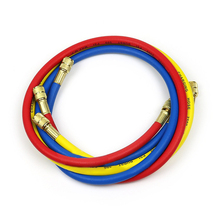 """1/4"""" SAE 60"""" 1.5m A/C Charging Hoses Tube Pipe Refrigerant R134a Air Conditioning Tools"""