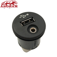 Free Shipping NEW 28023 BH00A For Nissan Juke Qashqai XTrail Micra Note NV200 Car USB AUX Port Adapter 28023BH00A