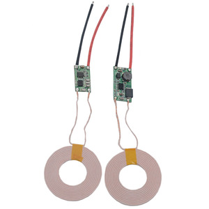 Image 4 - 5V 2A Large Current Wireless Charger Module Wireless Power Supply Module Transmitter Receiver Charging Coil Module
