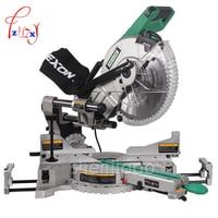 1pc SM3057R Dual Sliding Compound Mitre Saw & 305mm miter saw 1800 W 220/ 50hz Circular Saw Cutting Machine Mluminum