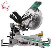 1pc SM3057R Dual Sliding Compound Mitre Saw & 305mm miter saw 1800 W 220/ 50hz Circular Saw Cutting Machine Mluminum