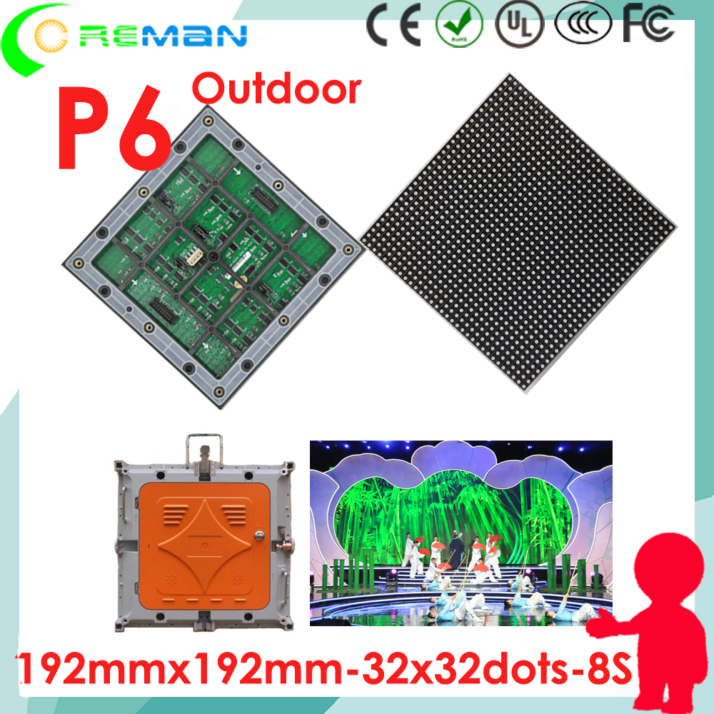 P10 RGB SMD 3 in 1 Full Color Display LED moduli screen bordo 32x16 pixel indoor