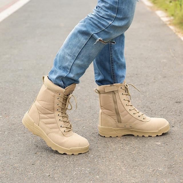 Famoso Delta Tactical Boots Military Desert SWAT American Combat Boots  RL81