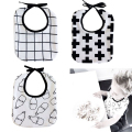 Ins Hot Milk Bottle / Cross Baby Bibs Towel Cotton Children Infant Saliva Towels Girls Boys Bebes Bandana Bibs