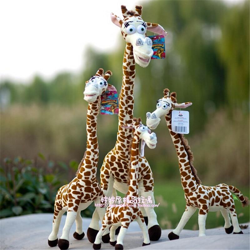 75cm design madagascar giraffe plush toys melman deer doll - Girafe madagascar ...