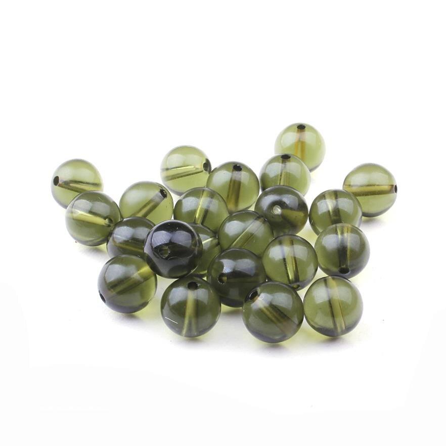 natural crystal loose beads Czech genuine Moldavite single bead Dia.10mm(China)