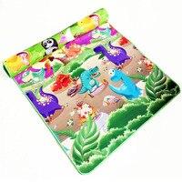 0.5 cm Double Side Baby Spelen Mat Eva Foam Ontwikkelen Mat voor kinderen Tapijt Kinderen Speelgoed Gym Game Kleed Kruipen Gym Playmat Gift