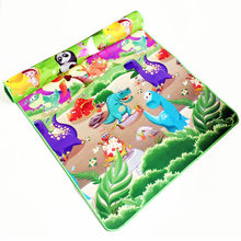 0.5cm Double Side Baby Play Mat Eva Foam Developing Mat for Children Carpet Kids Toys Gym Game Rug Crawling Gym Playmat Gift(China)