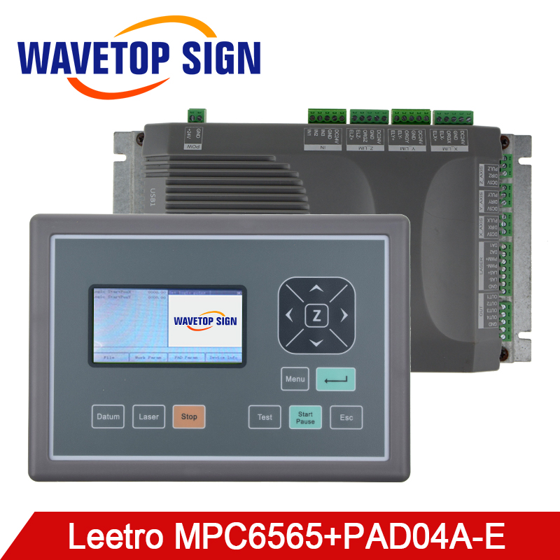 mpc6565 Laser machine control card MPC 6565 +LCD+usb cable +dongle Co2 Laser Controller laser cutter and laser engraving machine leetro co2 laser controller for laser machines mpc6525 laser controller mainboard panel dongle cable 2