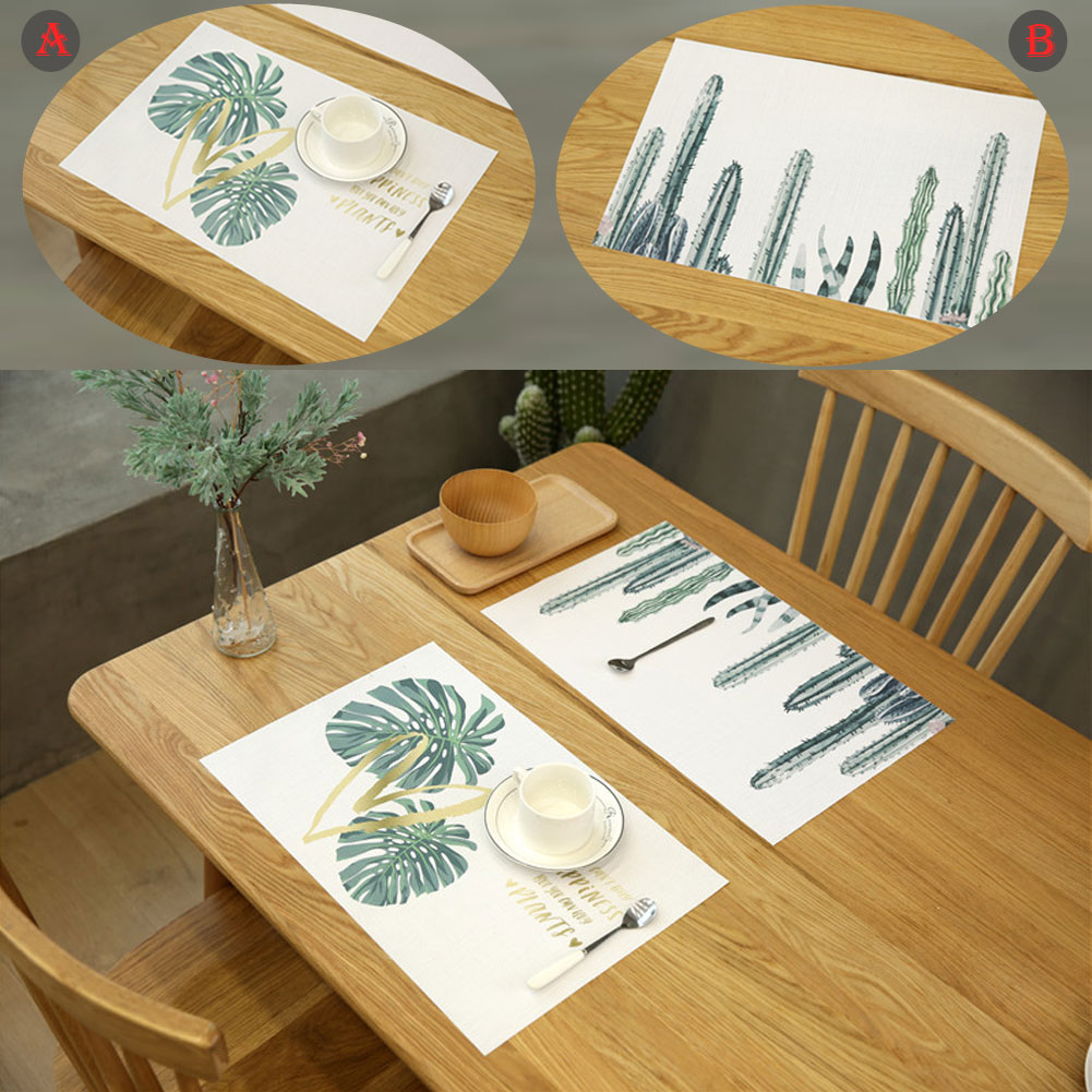1 коврики для ПК домашний коврик-подставка для еды чашки подставки для кофе коврики нескользящее украшение кухонного стола аксессуары