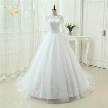 Noiva Marfim vestidos Através