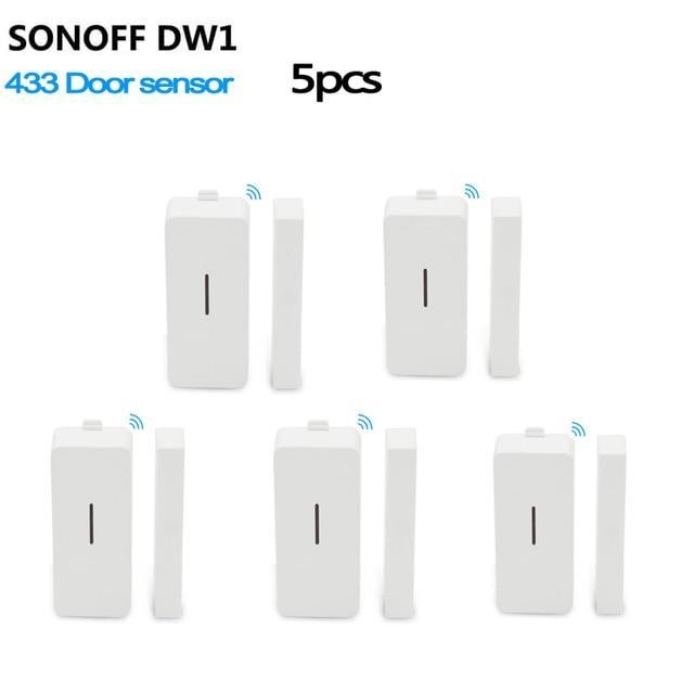 sonoff dw1 door window alarm sensor wireless automation anti theft alarm smart home security