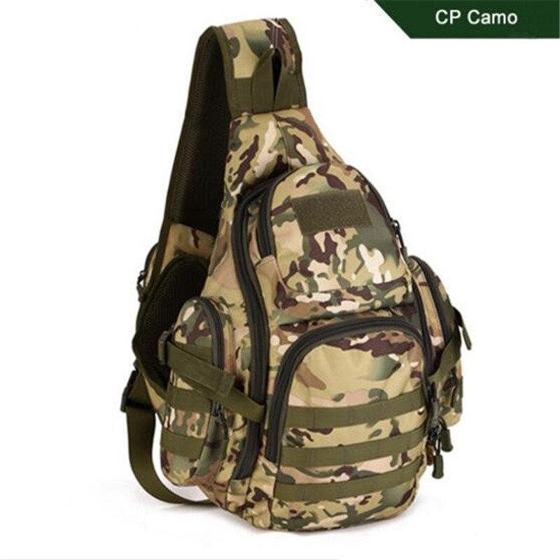 multi-functional male chest travel bag single shoulder large backpack leisure travelling men's bags high quality wearproof periodontal disease model dental care model