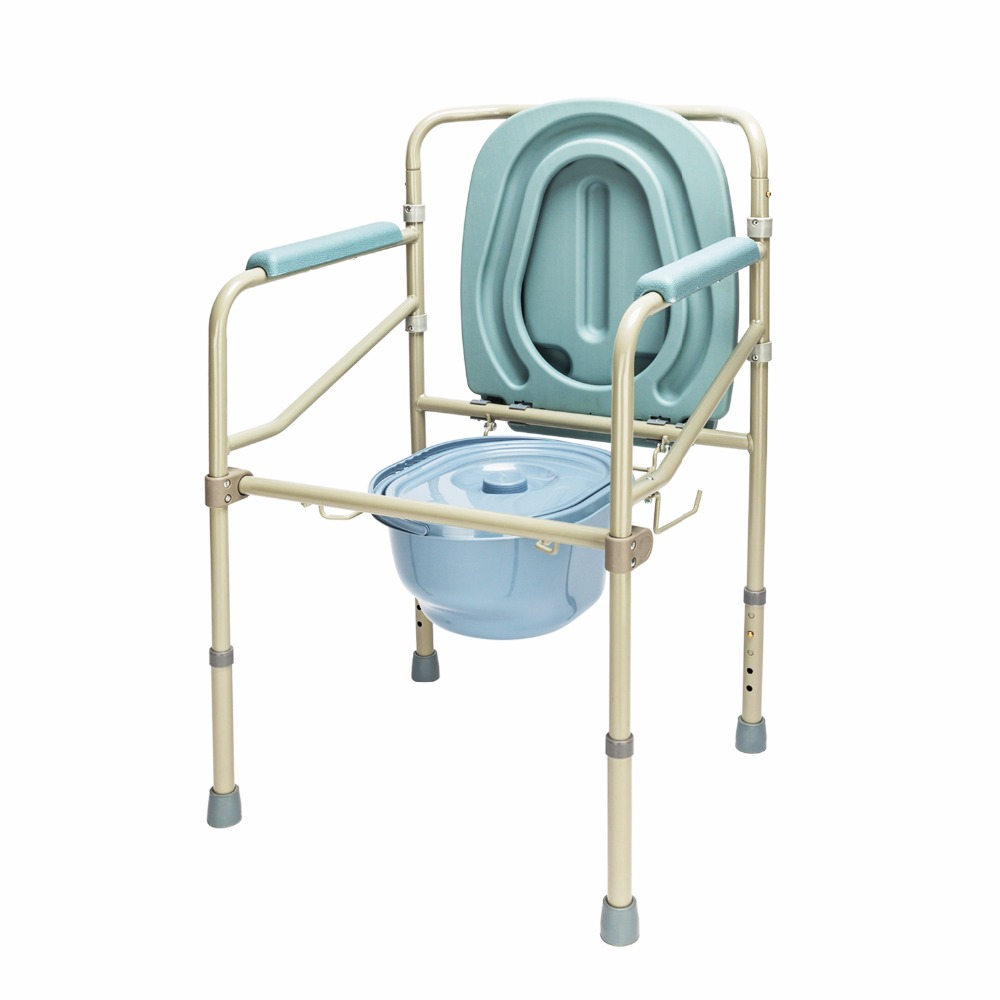 Awe Inspiring Adult Potty Chair Toilet Seat Commode Bedside Steel Inzonedesignstudio Interior Chair Design Inzonedesignstudiocom