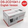 Inglês versionDS-2CD1041-I substituir DS-2CD2032F-I DS-2CD2035F-I 4MP MINI bala câmera IP POE, Câmera de segurança CCTV H.264 +