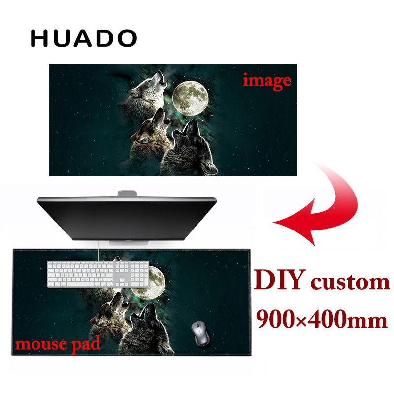 900 * 400mm DIY Custom Rubber Gaming Mouse Pad Mat Laptop Keyboard - Periféricos de la computadora - foto 6