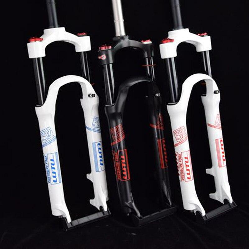 Vélo fourche à air 26 27.5 29 ER VTT montagne suspension fourche air huile de résilience de amortissement ligne serrure pour sur SR SUNTOUR EPIXON