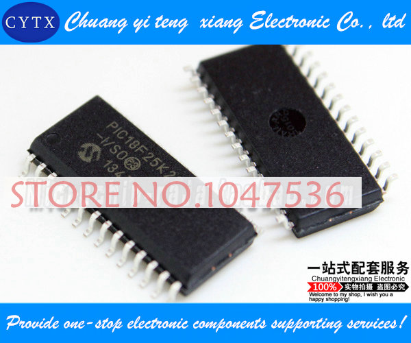 5pcs/lot PIC18F25K22-I/SO SOP28 integrated circuit IC Single chip Best selling