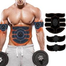 Formação EMS Estimulador Muscular Abdominal Trainer Abs de Ginástica Em Casa inteligente Engrenagem Equipamento de Fitness Trainer Exercitador Muscular Estimulador