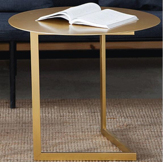 60*50cm Creative Round Coffee Table Iron Tea table Side table
