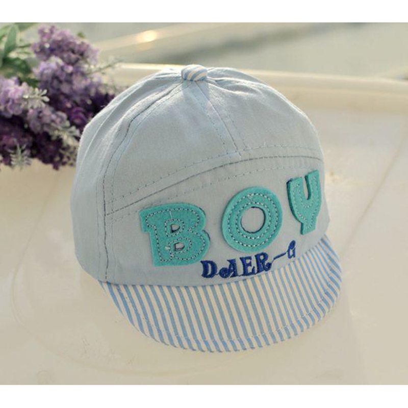 Bebek Beyzbol ÇOCUK Mektup Erkek Kız Bahar Yaz Şapka Güz Caps güneş Şapka Bebek ve Çocuk Pamuk Kap Yenidoğan Aksesuarları 2016 Yeni
