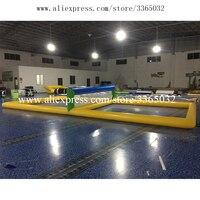 Гуанчжоу Qinda надувной морской бассейн Озеро водные спортивные игры надувная для пляжного волейбола поле