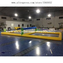 цена на Guangzhou Qinda Inflatable Sea Lake Pool Water Sports Games Inflatable Beach Volleyball Field
