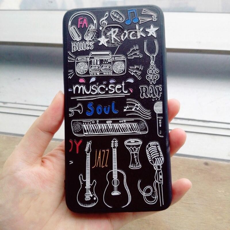 Rock Music Relief Printed Soft Frame PC Hard Back Bumper Case for Samsung Galaxy J2 Prime J7 Prime J7 Plus J5 2016 Cover Shell