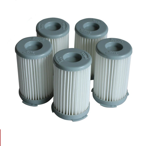 5pcs/lot Vacuum Cleaner Cartridge Pleated HEPA Filter for Electrolux ZS203 ZTI7635 ZW1300-213 Replacement Free Shipping romanson tl 1246 mw wh wh