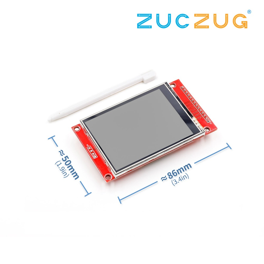 240x320 2.8 SPI TFT LCD Touch Panel Serial Port Module With PBC ILI9341 2.8 Inch SPI Serial White LED Display with Touch Pen240x320 2.8 SPI TFT LCD Touch Panel Serial Port Module With PBC ILI9341 2.8 Inch SPI Serial White LED Display with Touch Pen