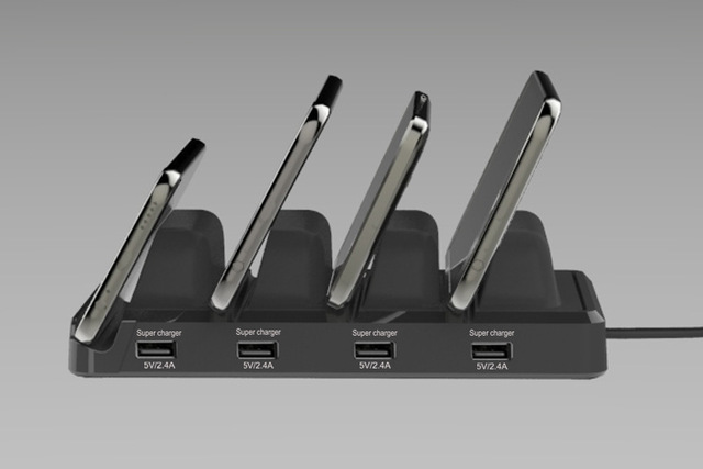 Power Charging Station with USB Charging Ports