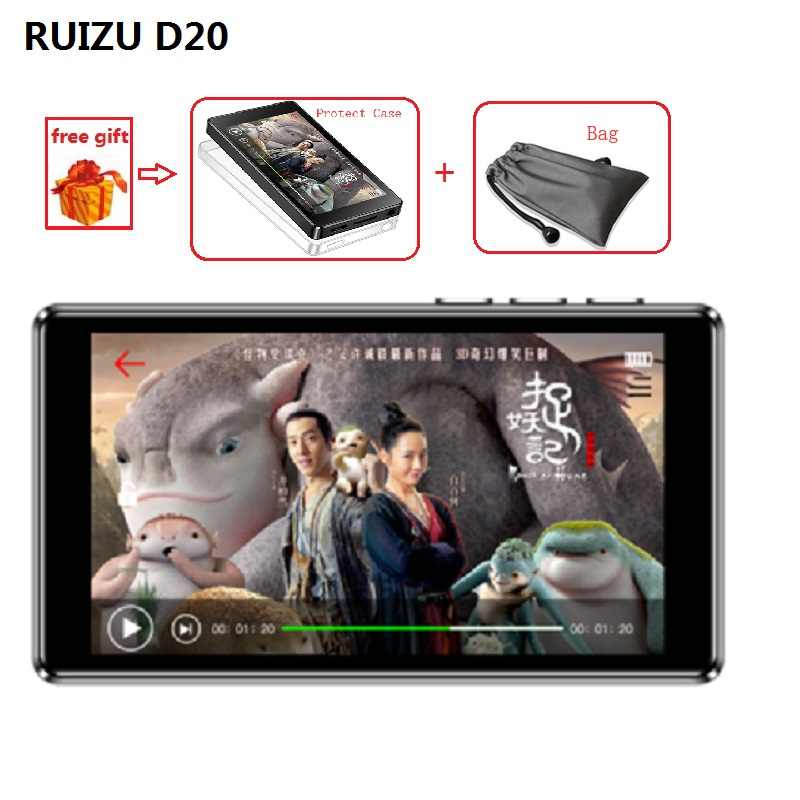 Newest MP3 Player RUIZU D20 HIFI Music MP3 Player HD Full Touch Screen 3.0 inch Out-Speaker Fm E-Book Audio Music MP4 Player