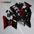 ABS Пластиковый обтекатель для ZZR400 1993-2007 ZZR 400 93 94 95 96 97 98 99 00 01 02 03 болты + окрашенная красная черная литьевая форма H2