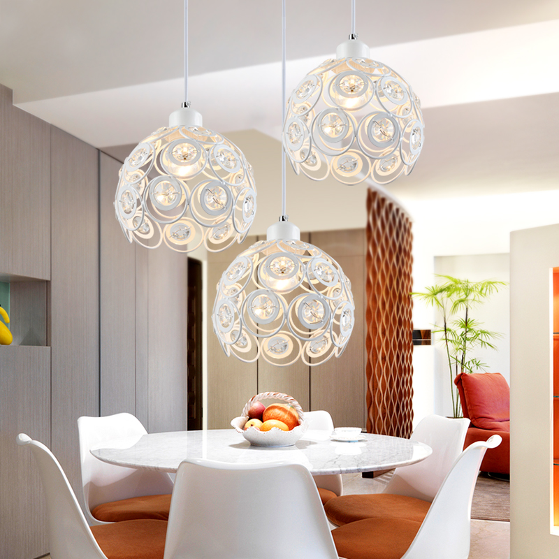 Pendant Lights crystal lamp aisle porch lamp library iron new restaurant  single bar single three ZCL 2017 riggs r library of souls