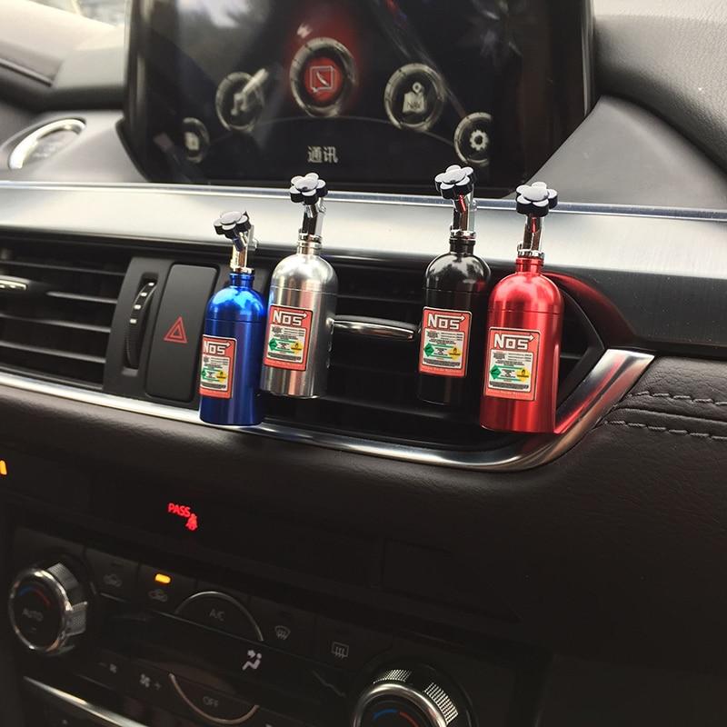 Erggu Car 1PCS Car Solid Perfume Sponges Refill Air Freshener Outlet NOS Perfume Clip Auto Aromatherapy Dispel Peculiar Smell carmate car outlet air freshener solid perfume fragrance 1g lemon flavour