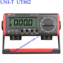 Cheap price UNI-T UT802 Bench Type Multimeter Digital Thermometer LCD Display Data Hold Automatic Range  Ammeter Multi-tester