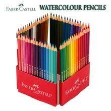 Получить скидку 72 Faber Castell Акварельные попугай набор карандашей Карандаш превращается в Краски нетоксичные Smoonth богатый Цвета с Краски кисть бесплатная