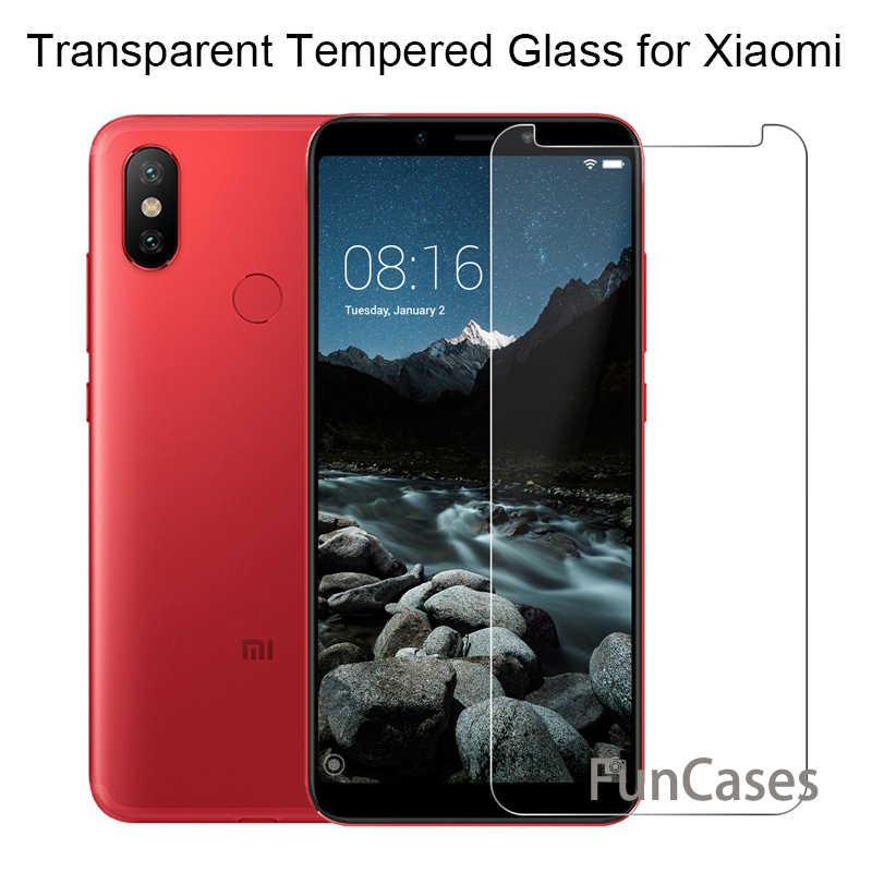 Gehärtetem Glas Für Xiaomi Redmi 6A 6 Display-schutz auf Redmi Hinweis 5 5A 4 4X 4A 5 Plus 7 cristal Schutz Glas Für Xiomi