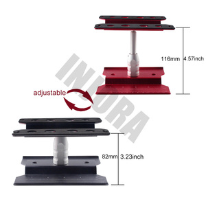 Image 2 - Metal Repair Station Work Stand Assembly Platform for 1/10 1/8 RC Car Traxxas TRX 4 Axial SCX10 90046 D90 RC Crawler Tamiya HSP