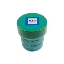 250K 500K PMTC BGA lead free solder ball for chips reballing with 0.2 0.25 0.3 0.35 0.4 0.45 0.5 0.55 0.6 0.65 0.76mm